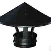 Зонт для трубы дымохода фото
