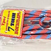 """Трос-веревка 7т с 2 крюками пакет """"Богатырь"""" (В41) фото"""
