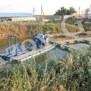 Очистка рыбоводческих прудов фото