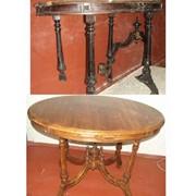 Реставрация старинной и современной мебели фото