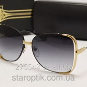 Женские солнцезащитные очки Dita Mariposa золото фото