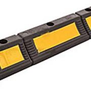 Колесоотбойники резиновые КР-0,60 парковочные фото