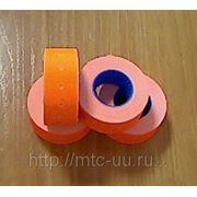 Этикет-лента 21,5-12 оранжевая