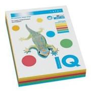Бумага IQ COLOR A4, 80 г/м2, 250л. 5-ть пастельных цветов. фото