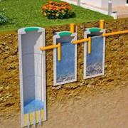 Септики, выгребные ямы, канализация, дренаж, бетон фото