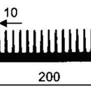 Профиль гребён. БК-231 (566063) длина 3м фото