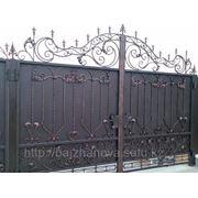 Ворота на заказ в Алмате фото