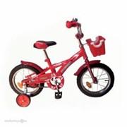 "Велосипед 2-х 14"" Delfi красн/бордовый 44106-КХ фото"