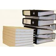 Переплетение бухгалтерской документации фото