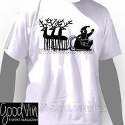 Печать логотипа на футболки №50 фото
