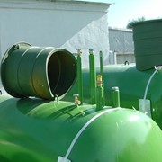 Резервуары для автономной газификации сжиженным газом (газгольдеры) объемом 4850 литров, евростандарт, адаптация под российские условия фото