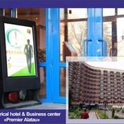Реклама в гостинице, Реклама в бизнес центрах, Реклама в гостинице и бизнес центре «Премьер Алатау» фото