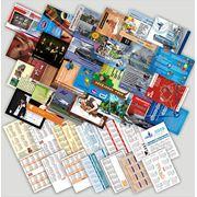 Изготовление карманного календарика фото