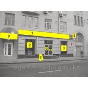 Оформление фасада магазина фото