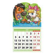 Календарь на гребне 2014г Хатбер фото