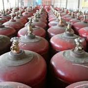 Газ в баллонах фото