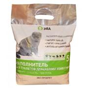 Наполнитель для туалетов животных Растительный сорбент Эва фото