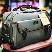 Дорожная сумка на колесах ASIAPARD 8969 48х28х32см коричневая фото