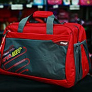 Женская спортивная дорожная сумка Handry 3881 красная фото