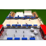 3D дизайн площадки для экстремальных видов спорта фото