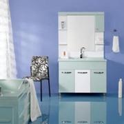 Зеленая мебель для ванной комнаты фото