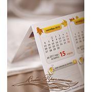 Персональный настольный календарь фото