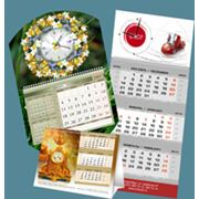 календари с часами фото