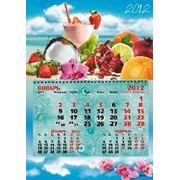 Календарь одноблочный фото