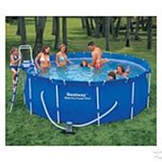Каркасный бассейн BestWay 488 см х 122 см (Картриджный фильтр) фото