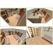 Составление дизайн-проекта коммерческих помещений для торговли, жилой мебели фото