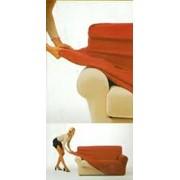 Чехлы на диваны (тянущиеся универсальные) фото