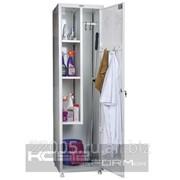 Шкаф металлический для хозинвентаря фото