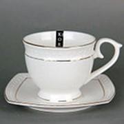 Пара чайная 280мл ф. круг СНЕЖНАЯ КОРОЛЕВА/з фото