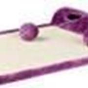 Когтеточка-коврик Trixie 43041 My Kitty Darling, 59х7х39см., фиолетовая фото