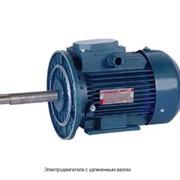 Электродвигатели с удлиненным валом фото