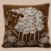Подушка декоративная Овечки бежевые П-2022И1 фото