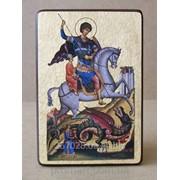 Икона Св. Георгий Победоносец код IC-29-15-22 фото