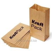Бумажные крафт пакеты без ручек фото