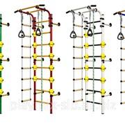 Детский спортивный комплекс Комета-NEXT-1 с ШАРАМИ (490 мм)NEW ДСКМ-2С-8.06.Г1.490.01-53 фото