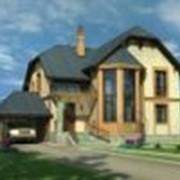 Проекты частных домов, коттеджей из пеноблоков. фото