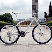 Велосипед BMW белый, 21 скорость фото