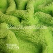 Ткань Махра (велсофт) салатовый 3747 фото