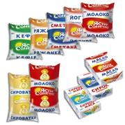 Упаковка для молочной продукции фото