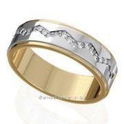 Кольца с бриллиантами W40745-1 фото