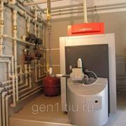 Монтаж водоснабжения и отопления в загородном доме фото