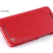 Чехол Hoco for HTC One Crystal Leather case Red (HT-L007R), код 56175 фото