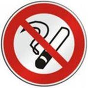 """Знак на самоклейке """"Не курить"""" фото"""