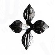 Изделие из металла цветок WH-6321 d 140, артикул 10360 фото