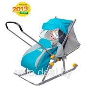 Санки-коляска Ника детям 2 фото
