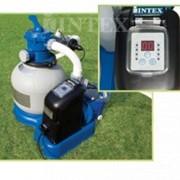 Песочный фильтр + хлорогенератор для очистки воды бассейнов Krystal Clear Combines INTEX 56678 фото